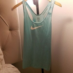 Nike Pro Tank Light Blue - Large